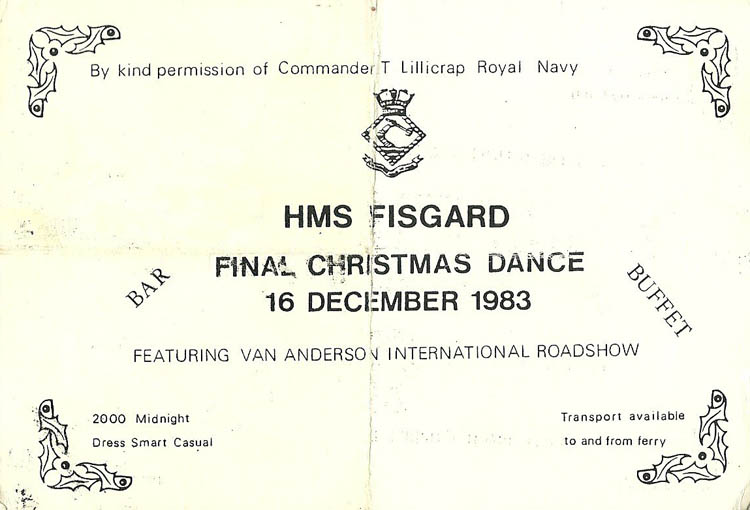 Fisgard Christmas Dance 1983